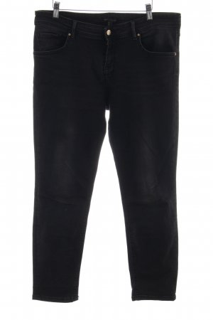 MNG Collection Karottenjeans schwarz Casual-Look