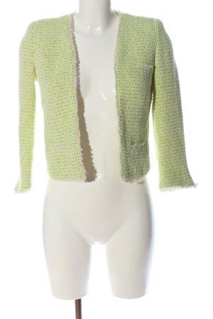 MNG Collection Kurz-Blazer grün meliert Casual-Look