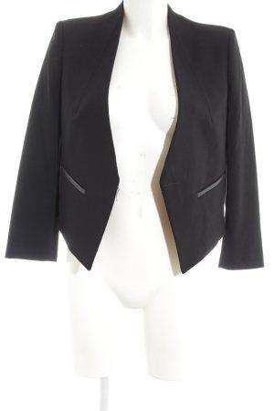 MNG Collection Kurz-Blazer schwarz Business-Look