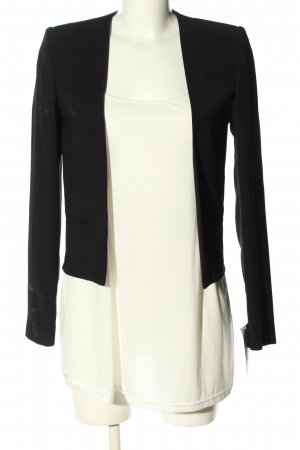 MNG Collection Kurz-Blazer schwarz Casual-Look