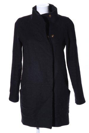 MNG Collection Manteau court noir style d'affaires