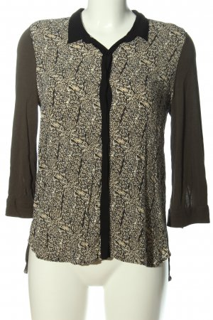 MNG Collection Langarmhemd Allover-Druck Casual-Look