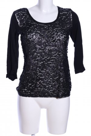 MNG Collection Longsleeve schwarz extravaganter Stil