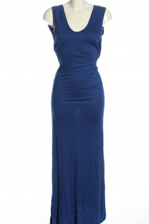 MNG Collection Maxikleid blau Elegant