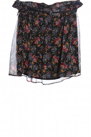 MNG Collection Minirock Blumenmuster Casual-Look