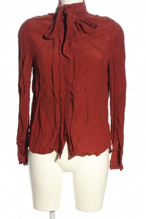 MNG Collection Schluppen-Bluse rot Casual-Look