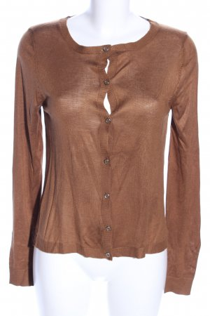 MNG Collection Shirtjacke bronzefarben Casual-Look