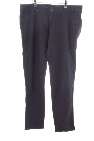 MNG Collection Stretchhose blau Casual-Look