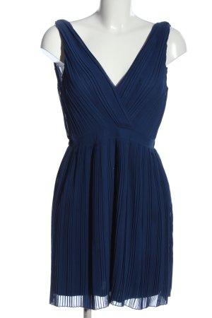 MNG Collection Trägerkleid blau Streifenmuster Casual-Look
