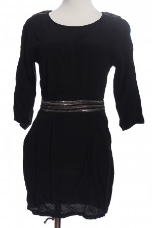 MNG Collection Tunikakleid schwarz Casual-Look