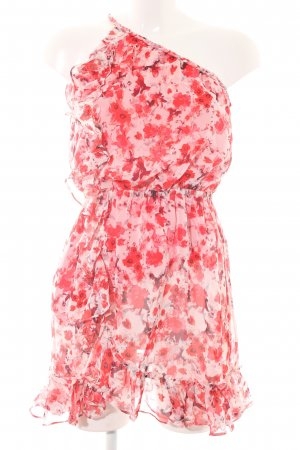 MNG Collection Flounce Dress floral pattern beach look