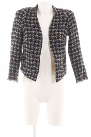 MNG Collection Woll-Blazer Karomuster Casual-Look