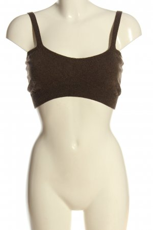 MNG Cropped Top braun Casual-Look