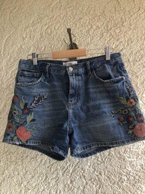 MNG Jeans Szorty z wysokim stanem Wielokolorowy