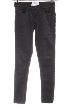 MNG Five-Pocket-Hose schwarz Casual-Look