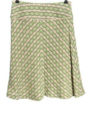 MNG Klokrok groen-roze grafisch patroon casual uitstraling