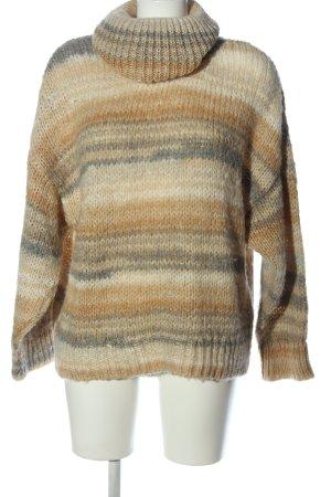 MNG Grof gebreide trui gestreept patroon casual uitstraling