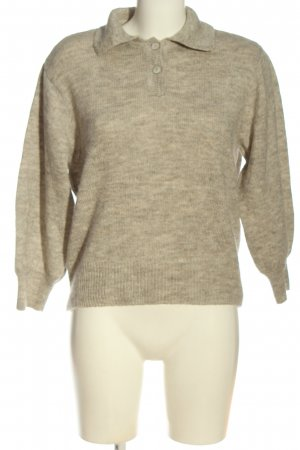 MNG Grobstrickpullover wollweiß meliert Casual-Look