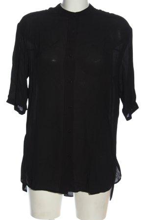 MNG Hemd-Bluse schwarz Business-Look