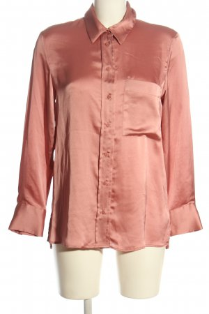 MNG Hemd-Bluse pink Business-Look