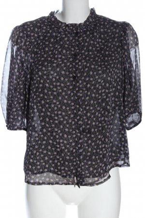 MNG Hemd-Bluse Allover-Druck Casual-Look