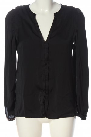 MNG Hemd-Bluse schwarz Casual-Look