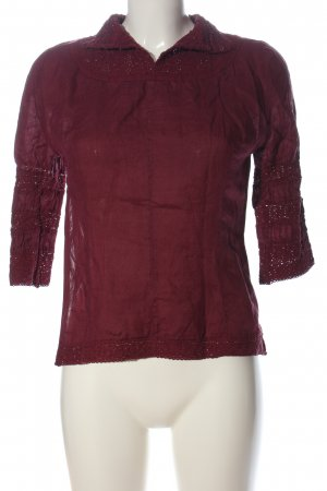 MNG Hemd-Bluse lila Casual-Look
