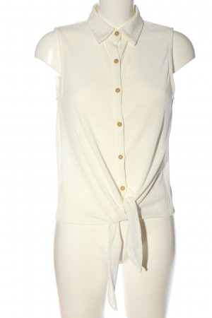 MNG Hemd-Bluse wollweiß Casual-Look