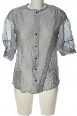 MNG Blouse-chemisier gris clair style d'affaires