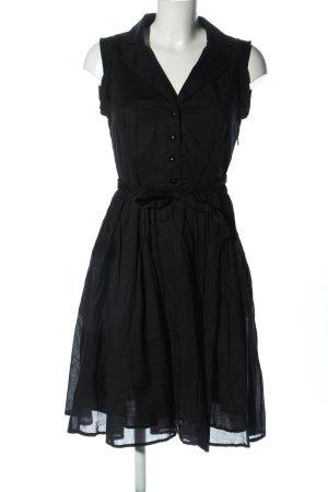 MNG Koszulowa sukienka czarny W stylu casual