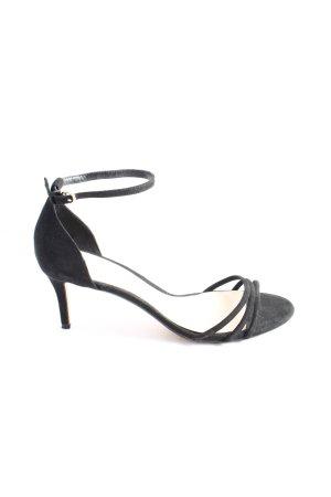 MNG High Heel Sandaletten schwarz Elegant