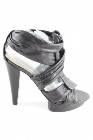 MNG High Heels schwarz extravaganter Stil