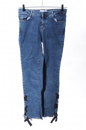 MNG High Waist Jeans blau Casual-Look