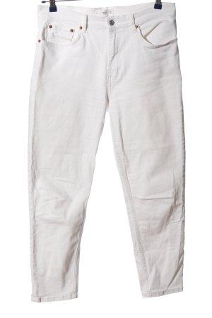 MNG Jeans taille haute blanc style décontracté