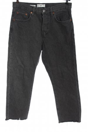 MNG High Waist Jeans hellgrau meliert Casual-Look