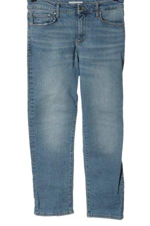 MNG High Waist Jeans blau Casual-Look