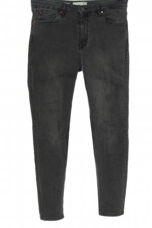 MNG High Waist Jeans hellgrau Casual-Look
