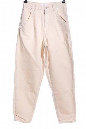 MNG High Waist Jeans creme Casual-Look