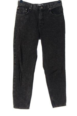 MNG Jeans taille haute noir style décontracté