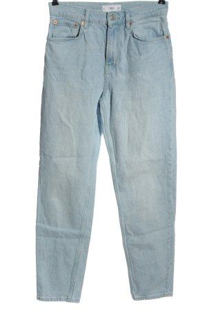 MNG High Waist Jeans blau Elegant