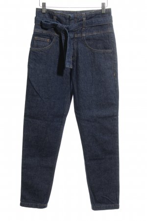 MNG High Waist Jeans dunkelblau Casual-Look