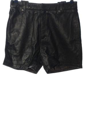 MNG Pantaloncino a vita alta nero stile casual