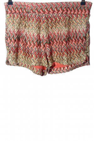MNG Hot Pants Allover-Druck Casual-Look