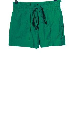 MNG Hot Pants grün Casual-Look