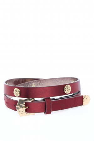 MNG Hip Belt pink-gold-colored casual look