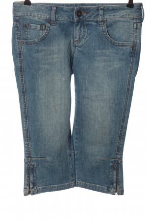 MNG Jeans 3/4 Jeans blau Casual-Look