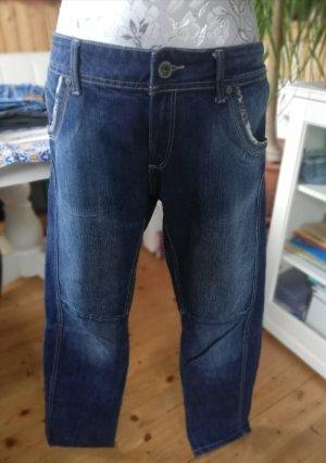 MNG Jeans Straight Leg Jeans blue-steel blue cotton