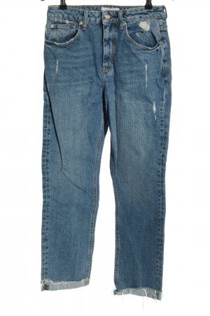 MNG Jeans 7/8 Jeans blau Casual-Look