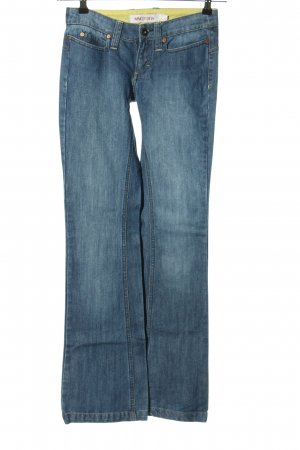 MNG Jeans Boot Cut Jeans blau Casual-Look