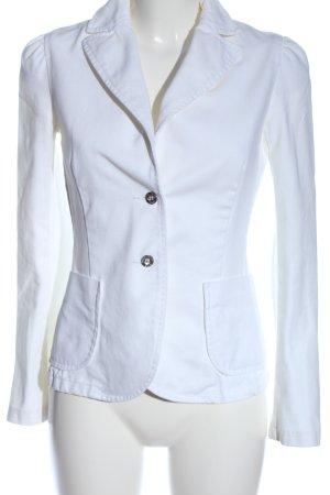 MNG Jeans Marynarka jeansowa biały W stylu casual